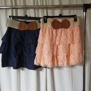 2 for the price of 1 ruffle skirts bundle deal😊